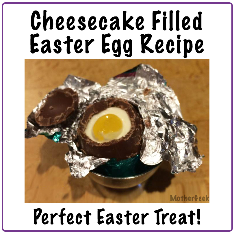 Cheesecake Filled Easter Eggs Recipe PIN