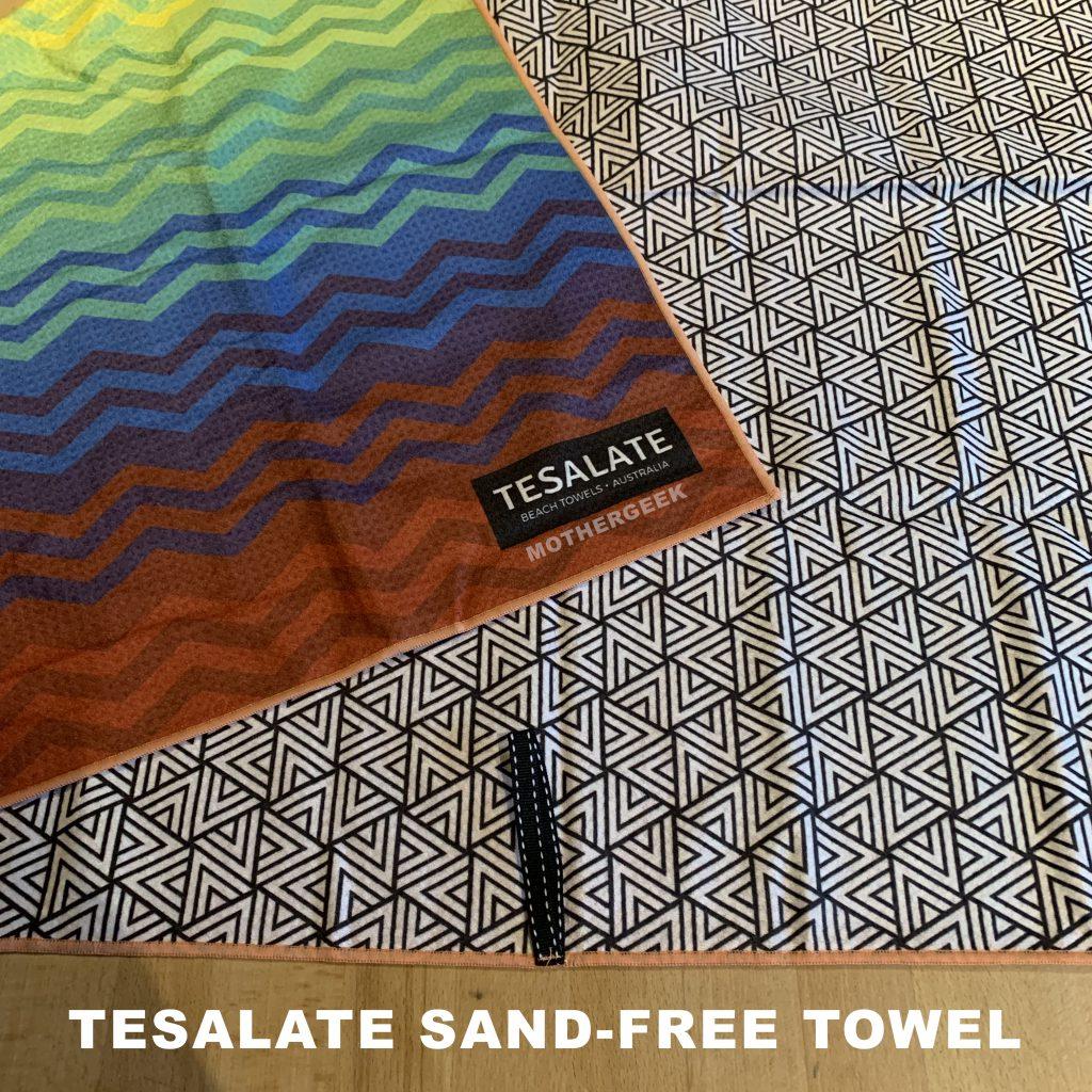 Heartbeat Tesalate Sand-Free Towel