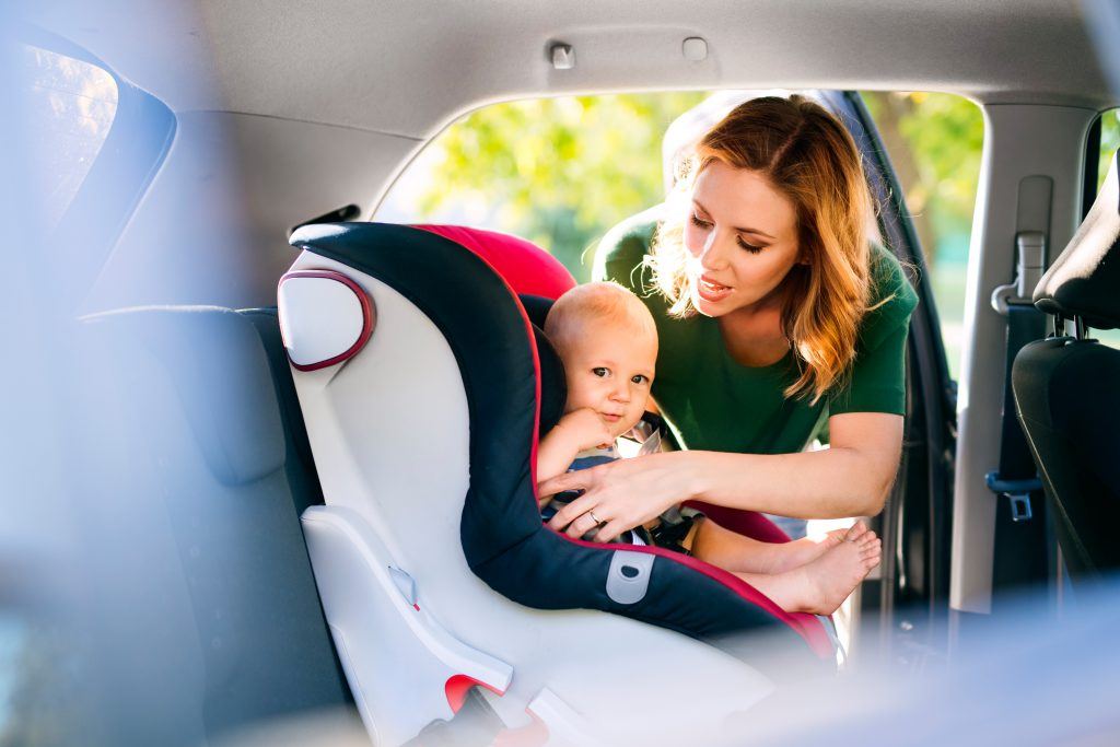 driving habits of new parents