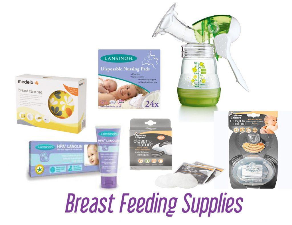 preparing for breast feeding