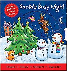 Santa's Busy Night book