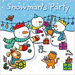 Snowman's Party book