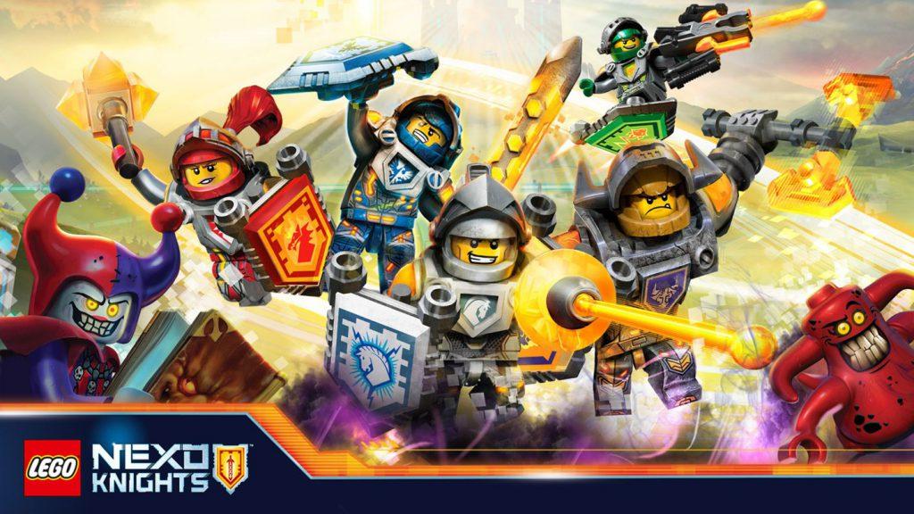 Lego Nexo Knights 4D: The Book of Creativity ad