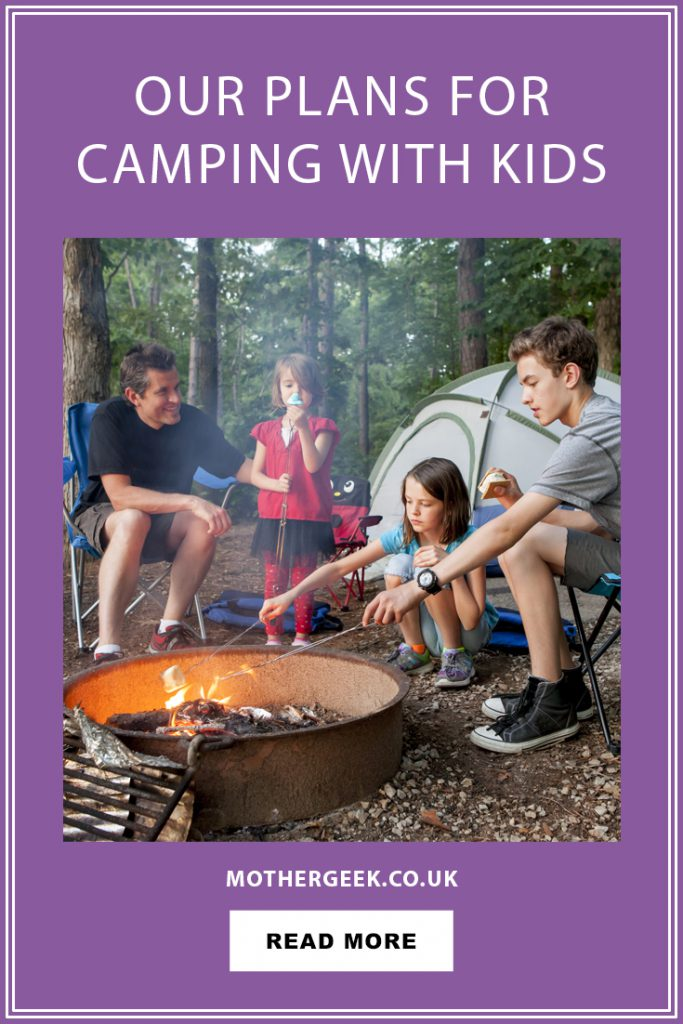 plans for camping with kids