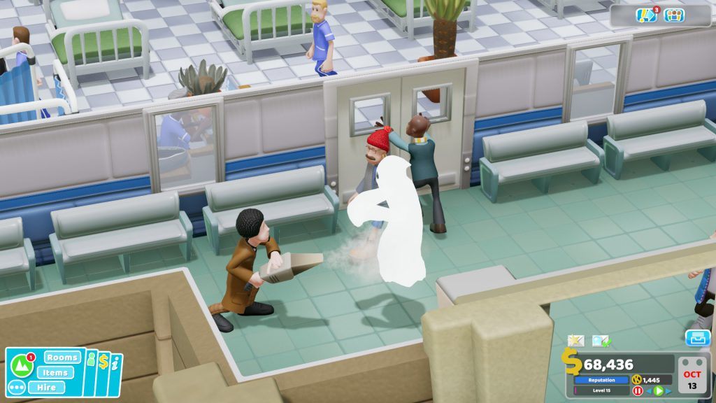 two point hospital ghost
