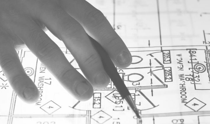 building and renovating show - blueprints