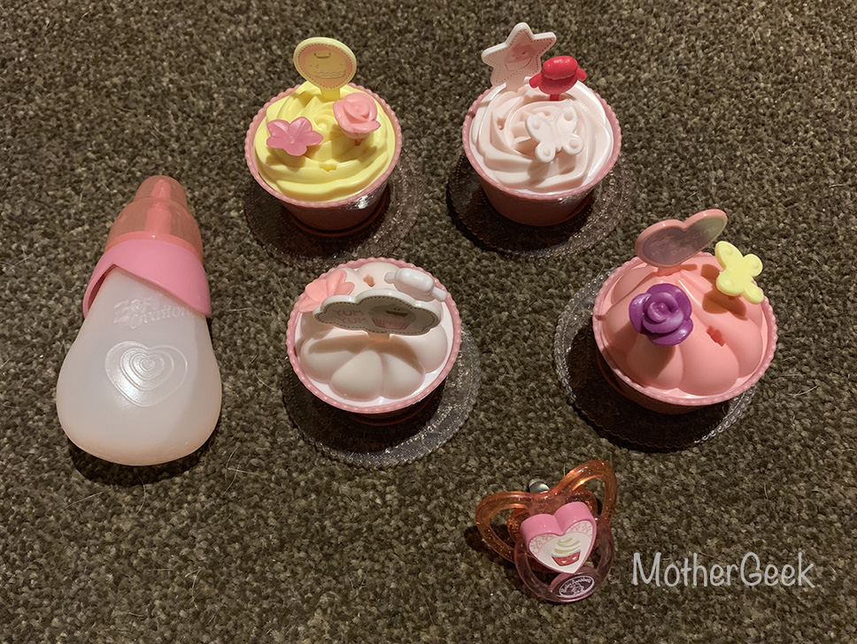 Baby Annabell My Special Day accessories