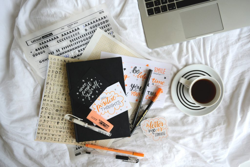 saving time with stickers bullet journal