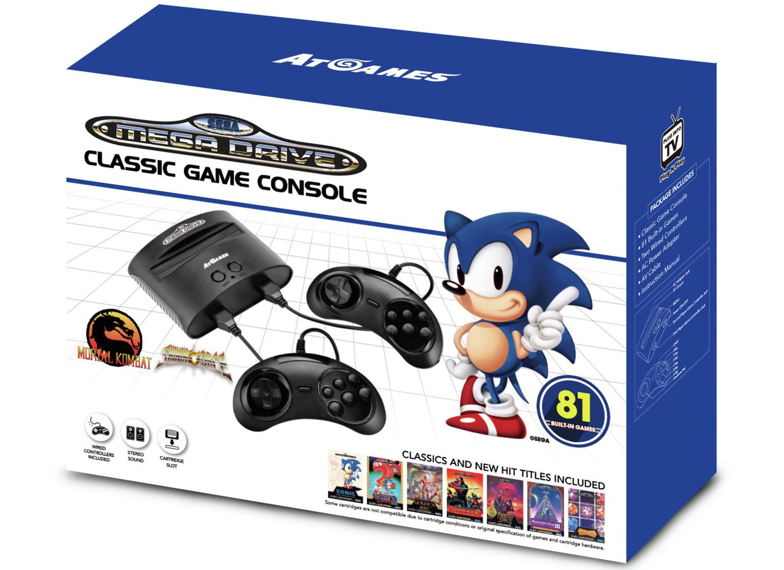 Sega Mega Drive Classic - in the box