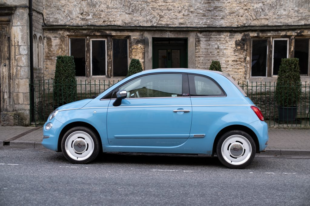 what happens if you forget your MOT - Fiat 500 car