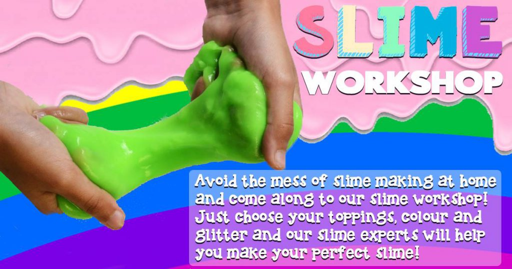 Slime Making at The Place To Potter