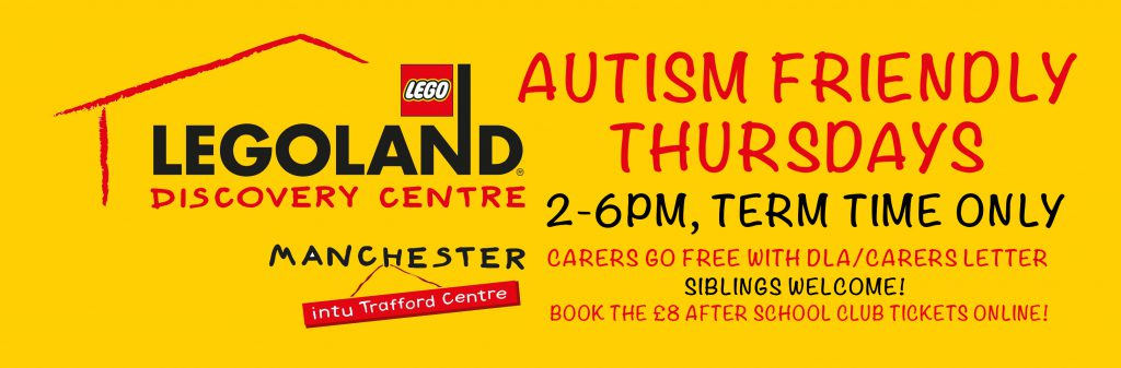 Autism friendly sessions at Legoland Discovery Manchester
