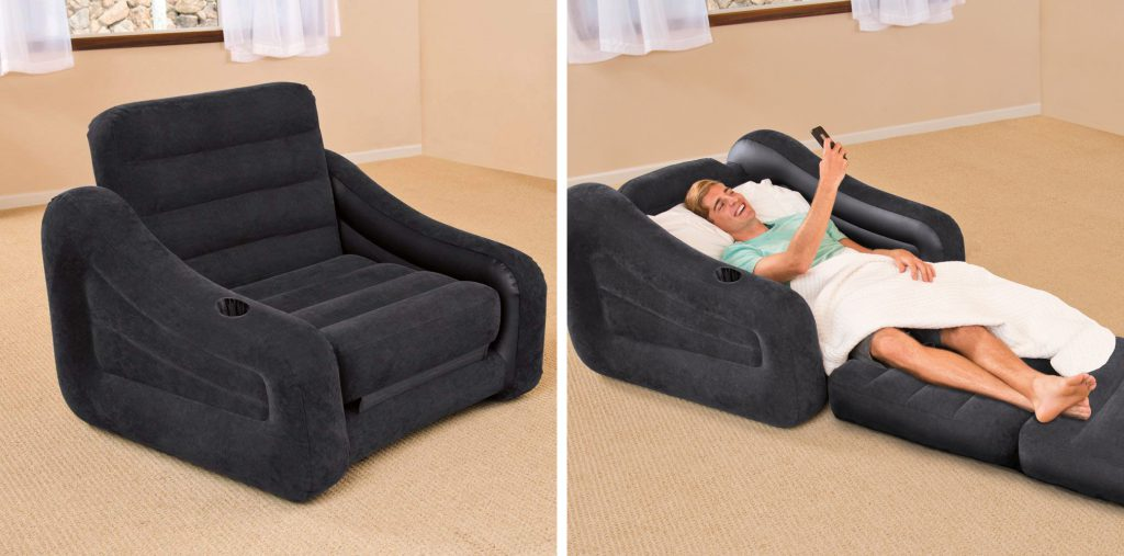 inflatable chair bed - perfect for camping