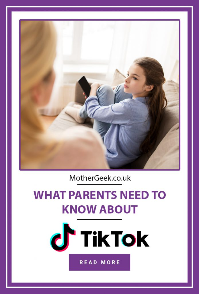 pinterest pin saying what parents need to know about TikTok