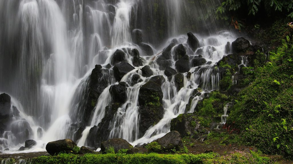 Waterfall in azores