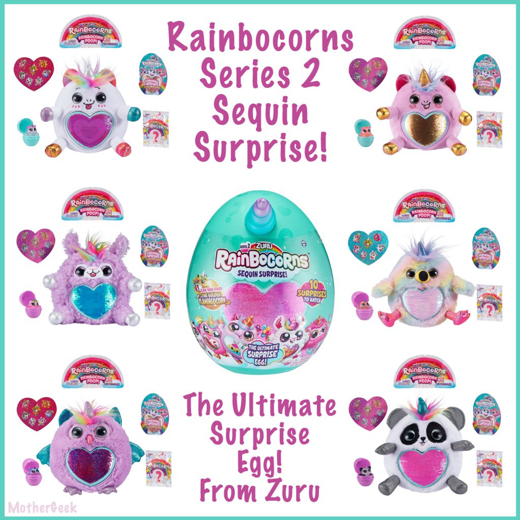 Series 2 Rainbocorns - some of the options available