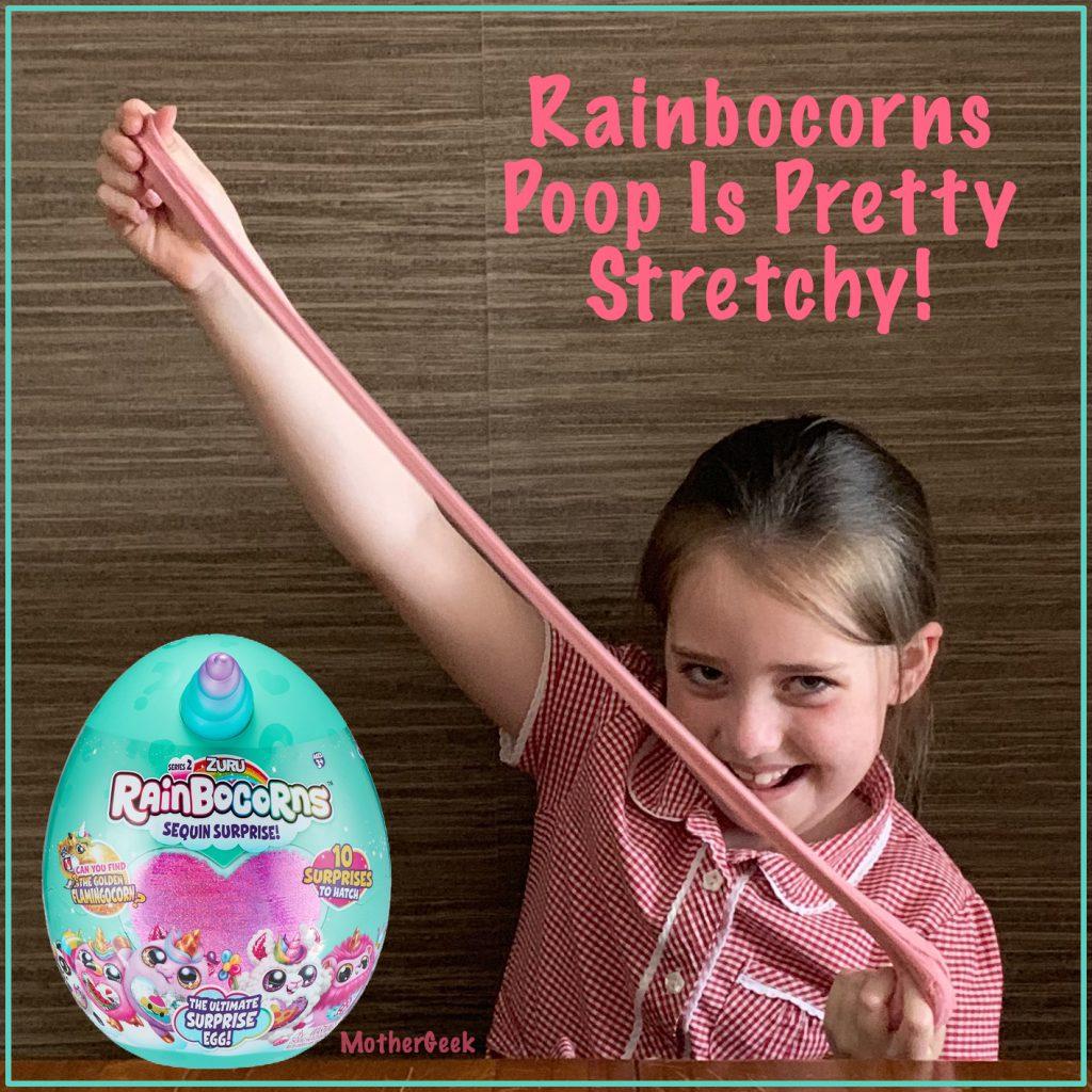 Rainbocorn poop