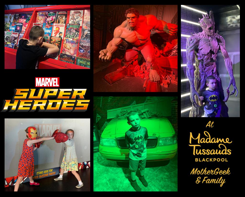 MARVEL SUPER HEROES at Madame Tussauds Blackpool