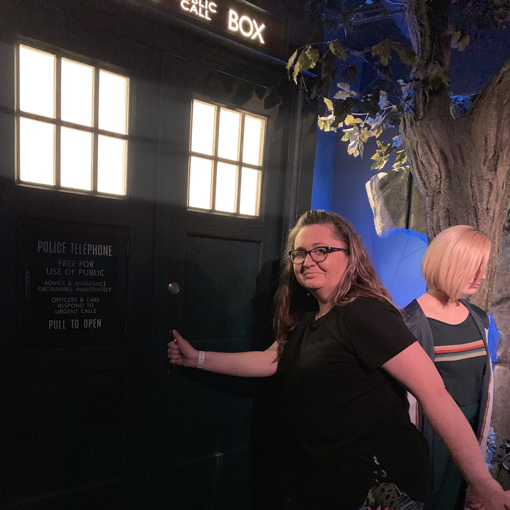 Dr Who at Madame Tussauds Blackpool