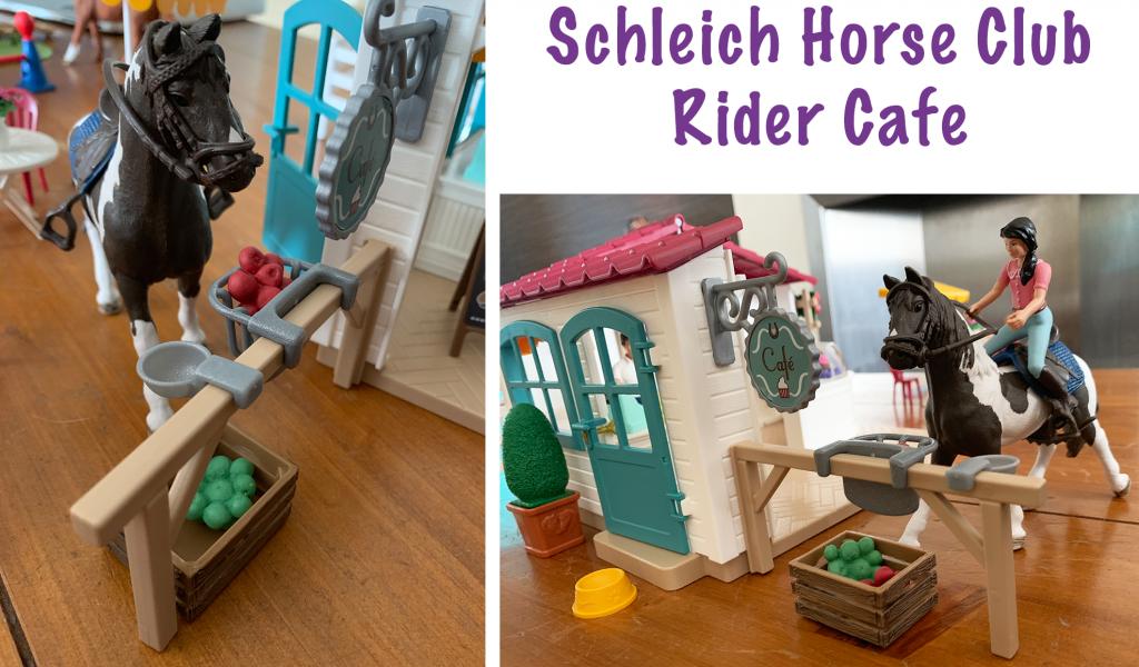 Schleich Horse Club Rider Cafe horse