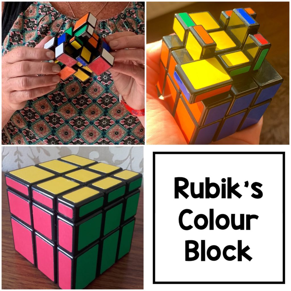 Rubiks 2019 Range - Colour Block game