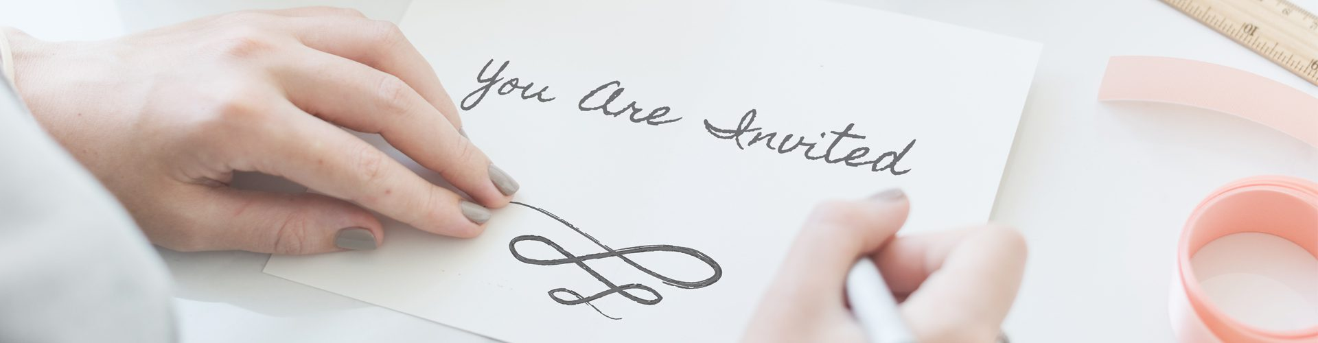 Designing The Perfect Invitation - letter saying you are invited