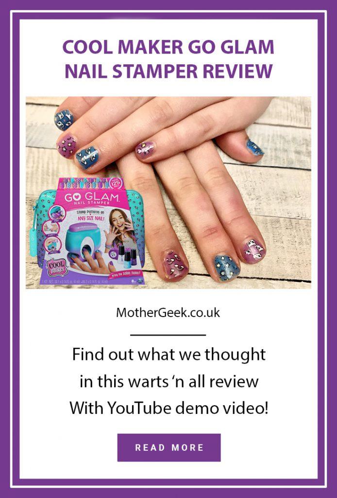 go glam nail stamper Pinterest pin