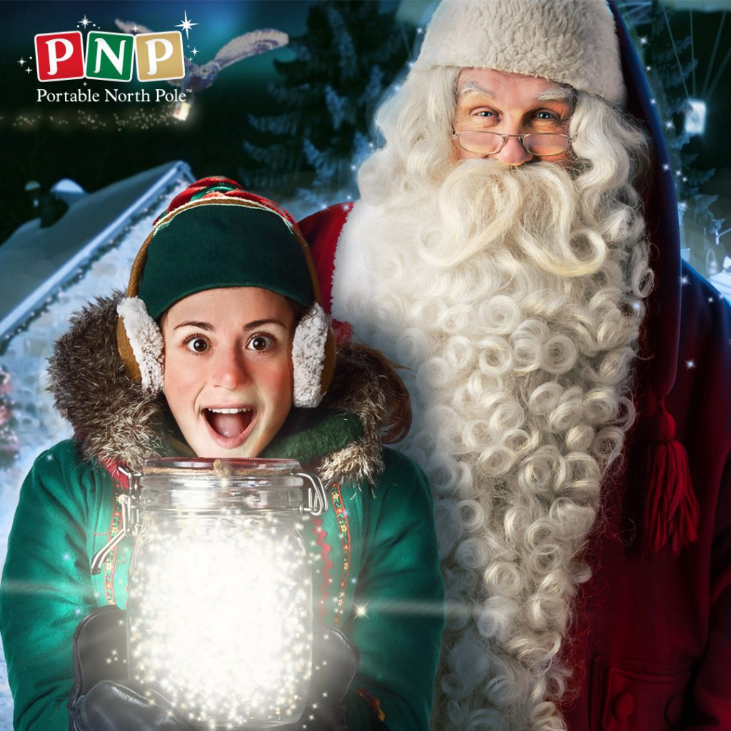 Portable North Pole Review 2019 - stock photo from PNP