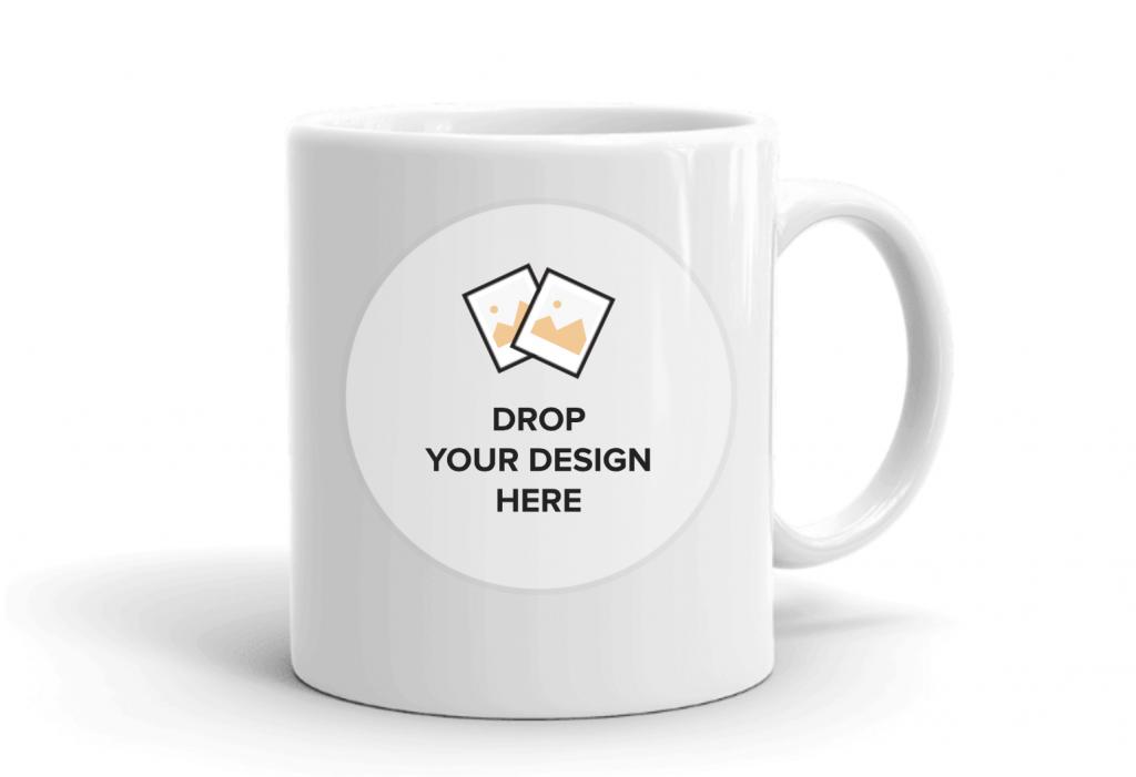 make your own mug mock up