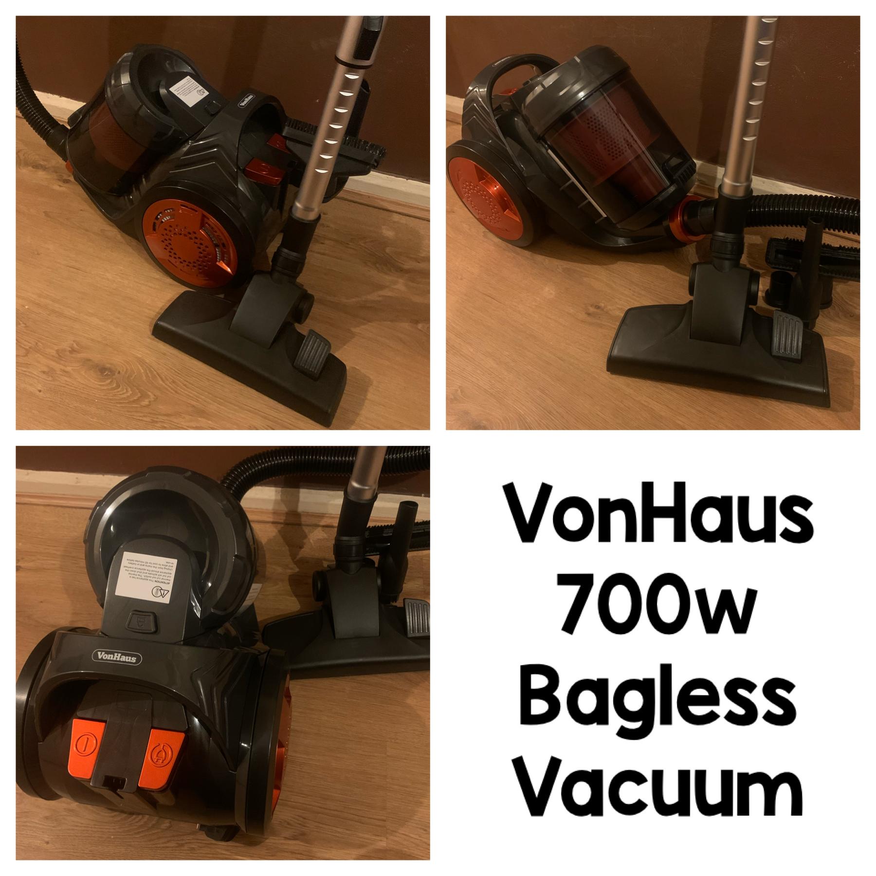 VonHaus 700W Bagless Vacuum