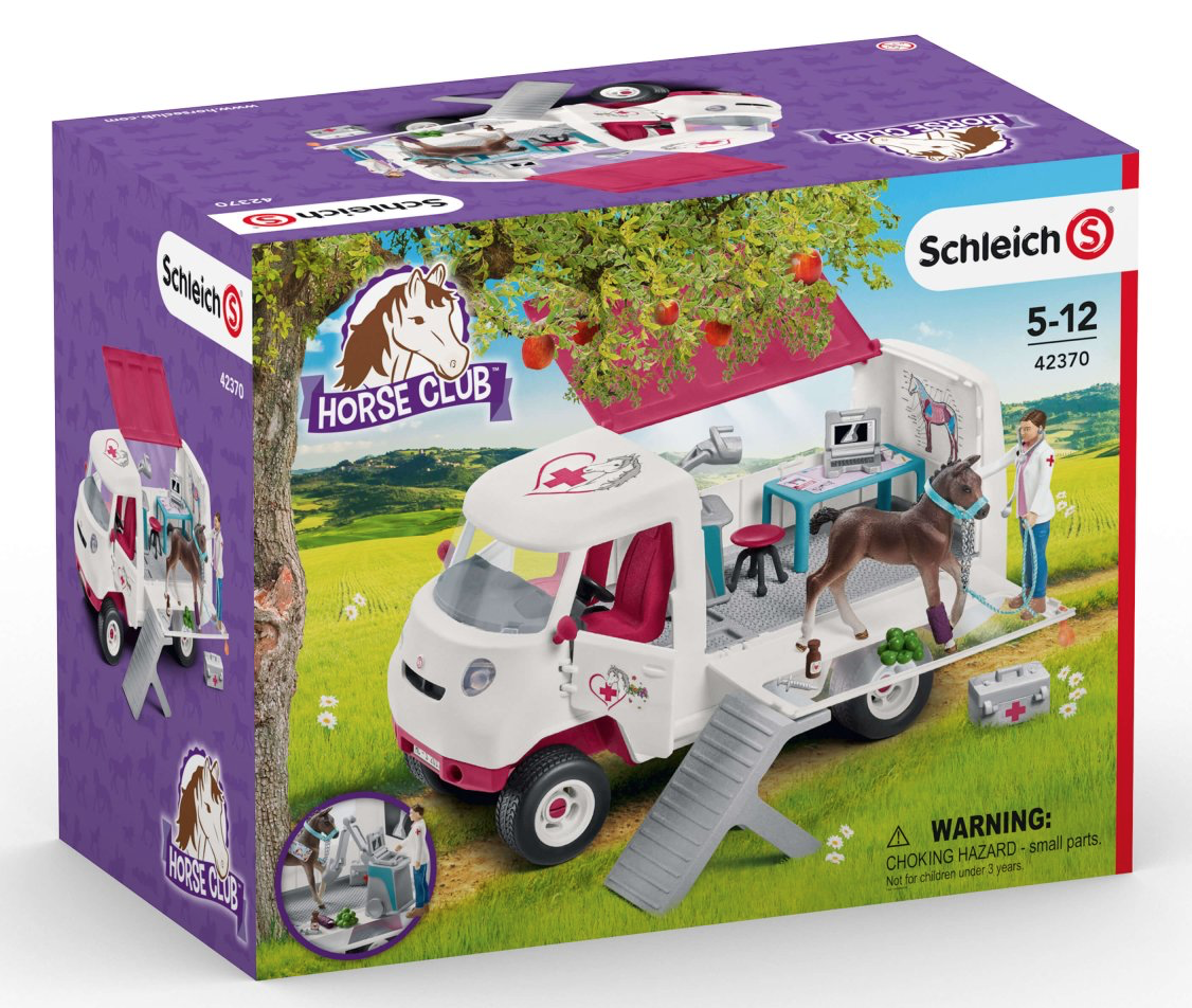 Schleich Mobile Vet Set Review - the box