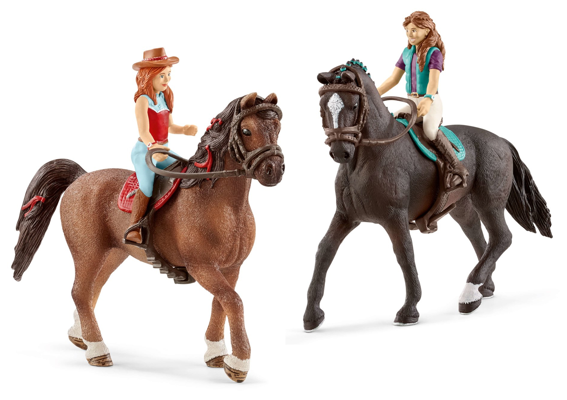 Schleich Mobile Vet Set Review - horse figurines