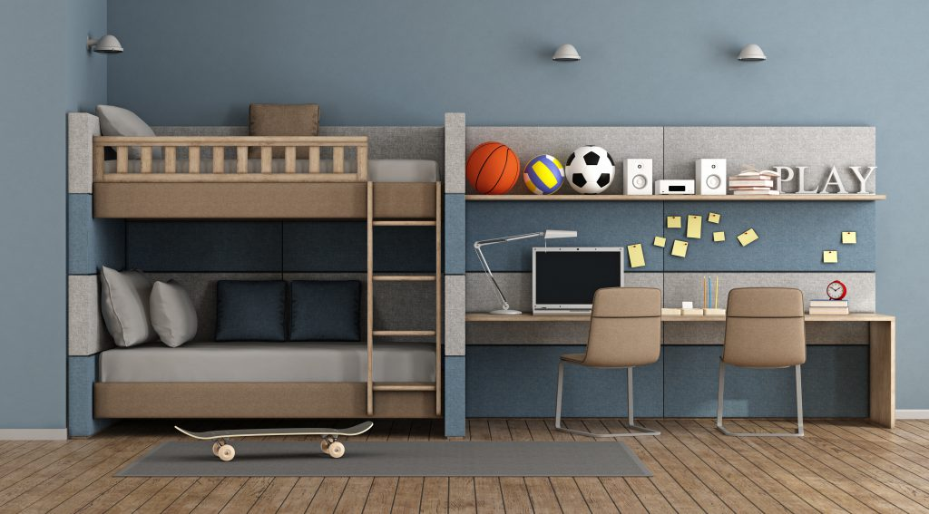 ideas for redecorating a child's bedroom - bunk beds