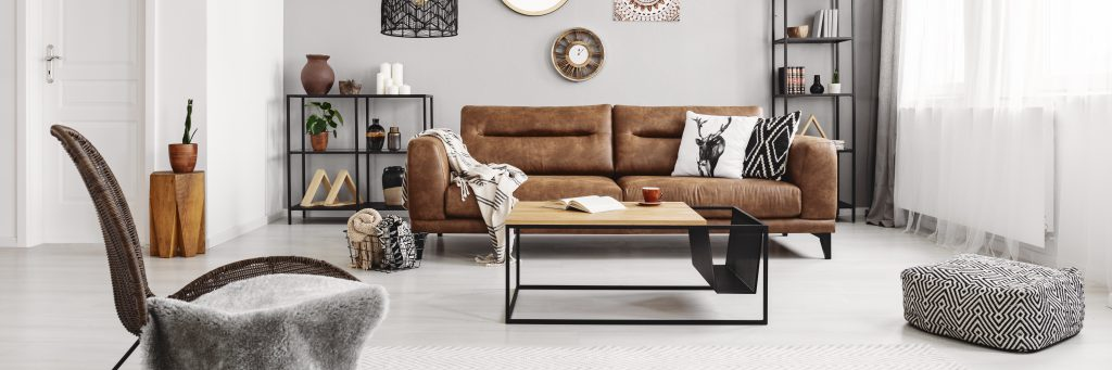 updating your lounge for each season - Neutral sofas with neutral accessories - perfect for spring and fall