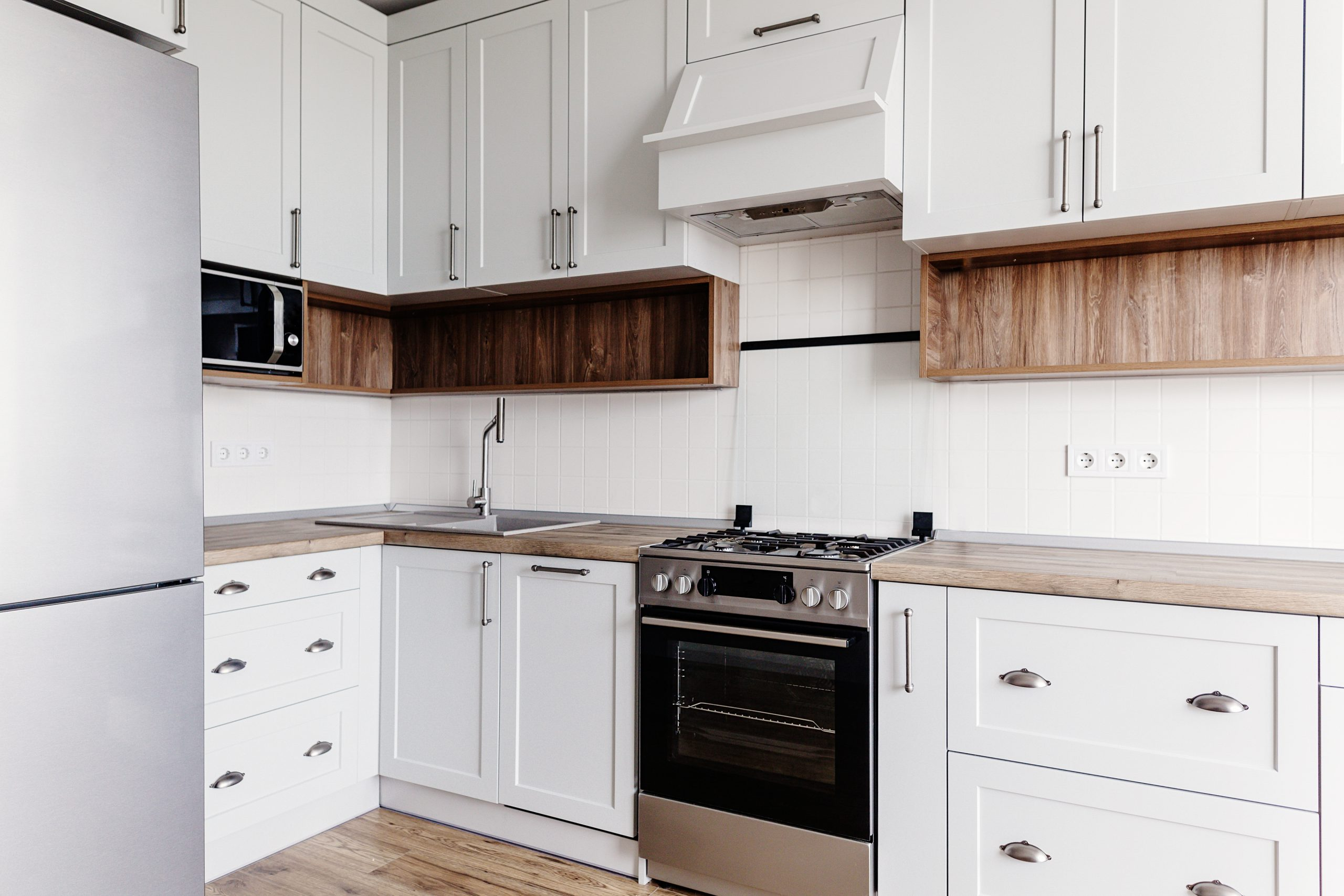 Light colours help when learning How to add style to your kitchen