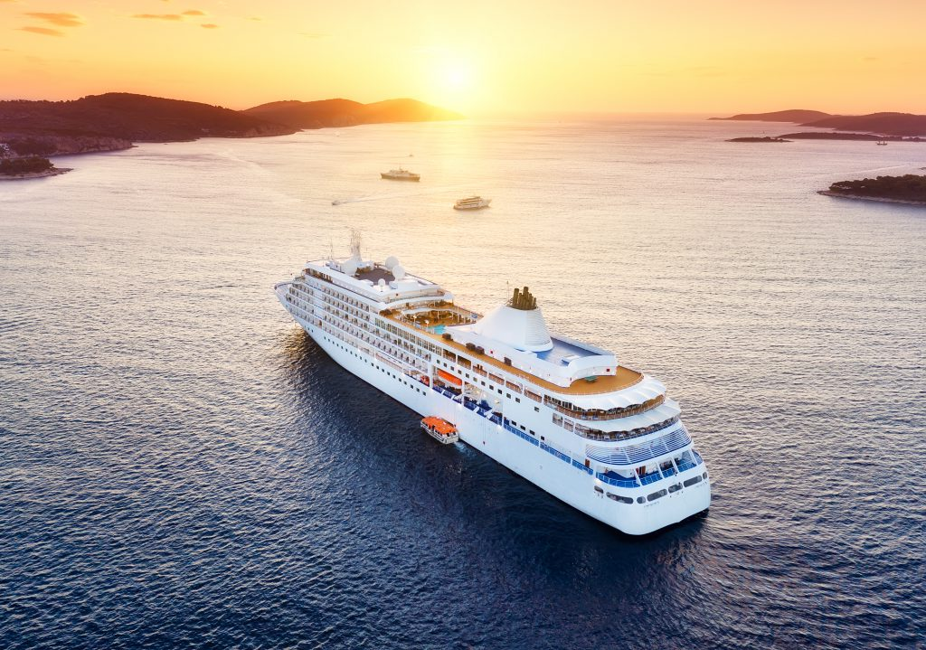 Cruise ship at sunset - The best overnight cruises for all types of explorers