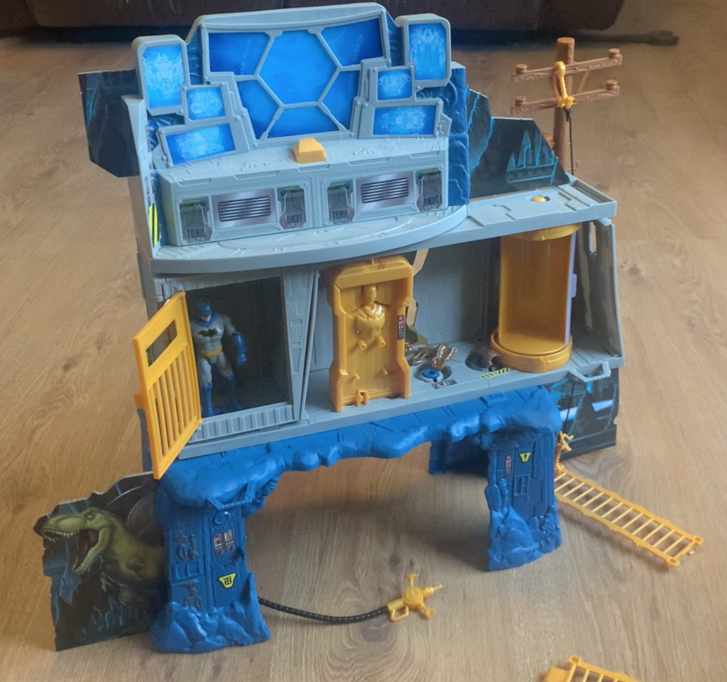 Batman Lair side of the 3 in 1 Batcave review