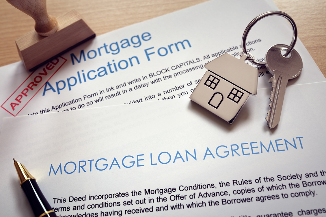 mortgage application form - this is a way of funding expensive home refurb jobs