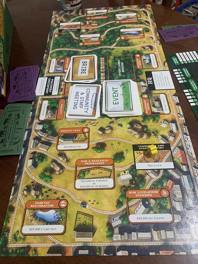 Conservation Crisis Game in use