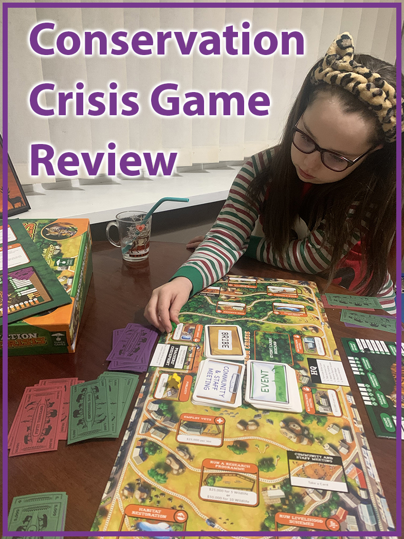 conservation crisis game review Pinterest pin