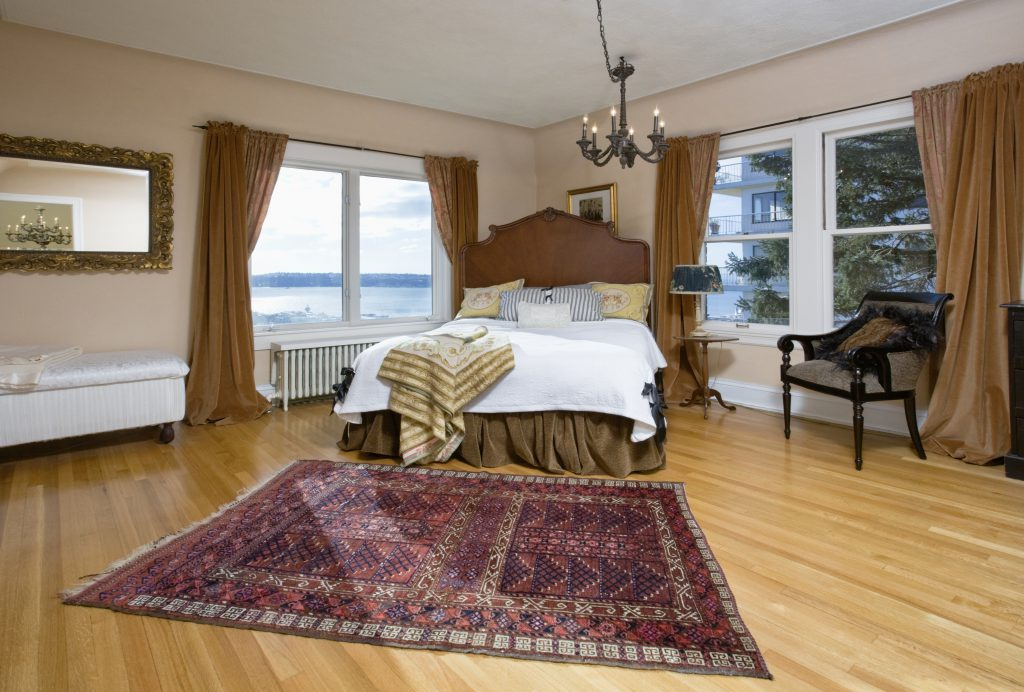 create a beautiful bedroom on a budget