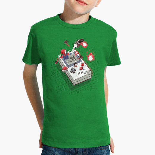 kids Nintendo gameboy top