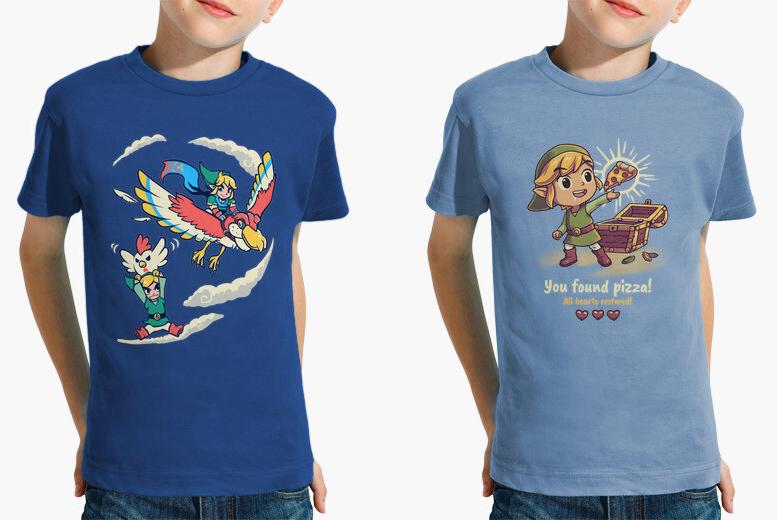 Kids Nintendo Zelda Tops