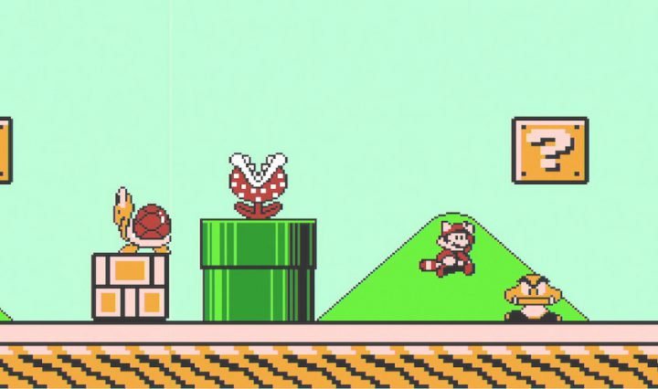 Mario bros 3 on nintendo