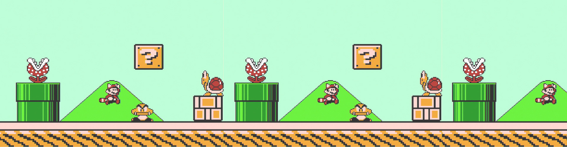 Mario bros 3 on nintendo